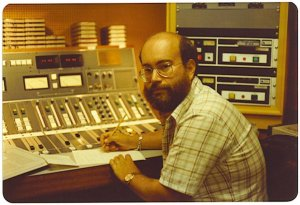 A younger me at WABC's Studio 8X in the ABC Building!