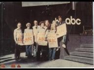 NABET on strike 1977