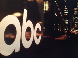 The ABC Cube looking south in front of 1330 Ave of the Americas