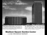 The two buildings that replaced the majestic Penn Station